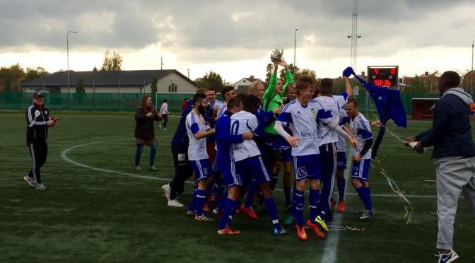 IFK avslutade med vinst