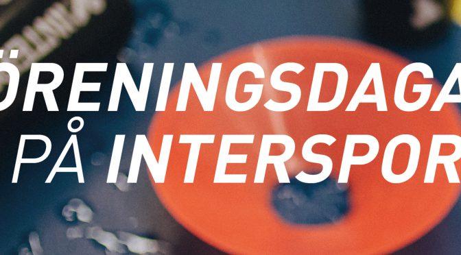 Föreningsdagar på Intersport 2-4 december