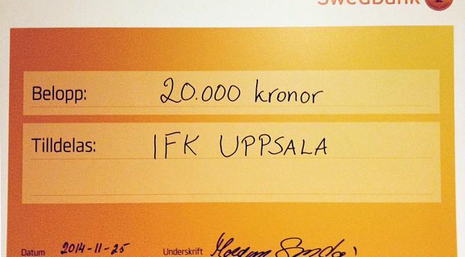 IFK tilldelas stipendium