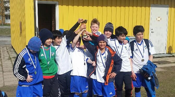 Tre IFK-lag deltog i Kick-OFF Cup