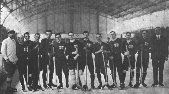 Sommarkrönika: Det första hockeylandslaget